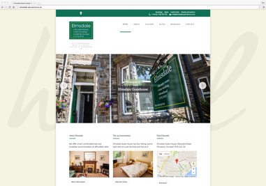 A new website for Elmsdale Guest House