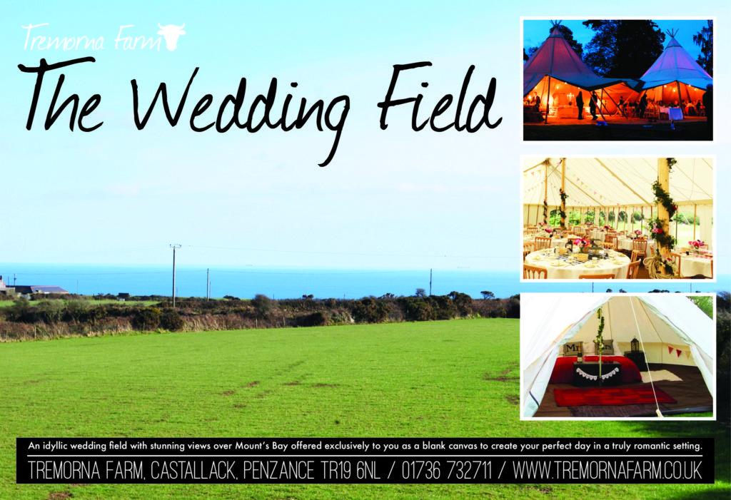 A magazine advert for Tremorna Farm