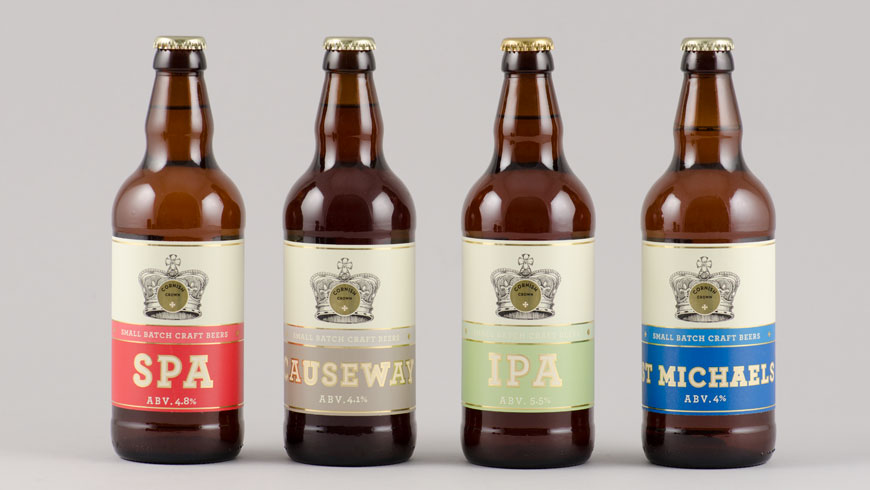A new web presence for Cornish Crown ales