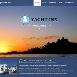 New website for Yacht Inn, Penzance