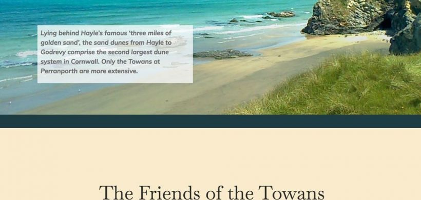 A new website for Friends of the Towans