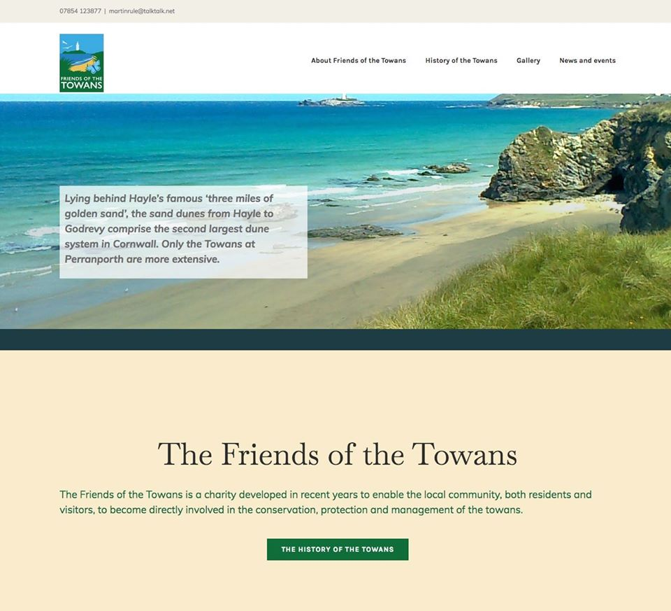 Friends of the Towans new website