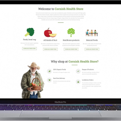 Big online shopping presence for Cornish Health Store