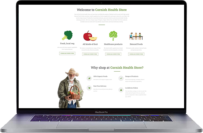 cornish-food-store-website