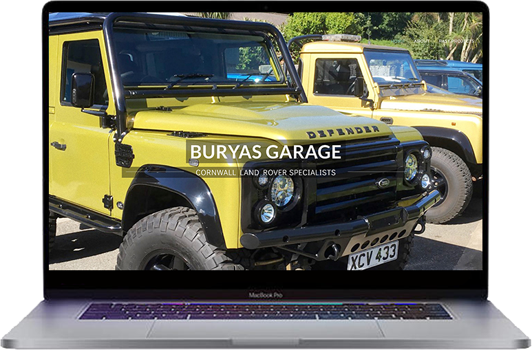garage websites cornwall