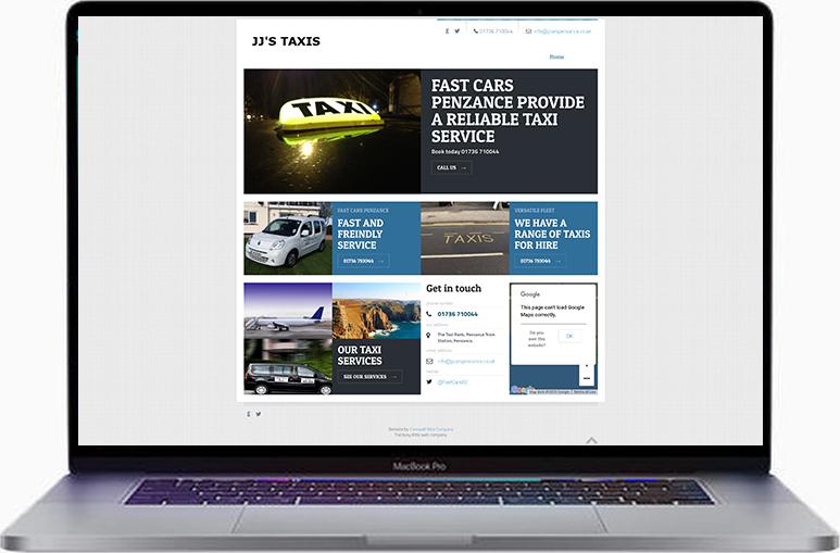 penzance web design