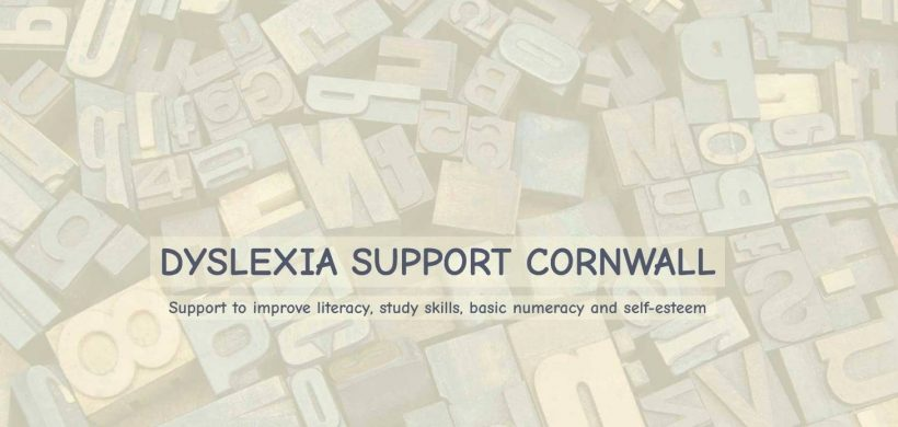 Dyslexia Support Cornwall, a new website for a dyslexia tutor